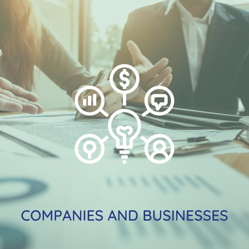 COMPANIES AND BUSINESSES